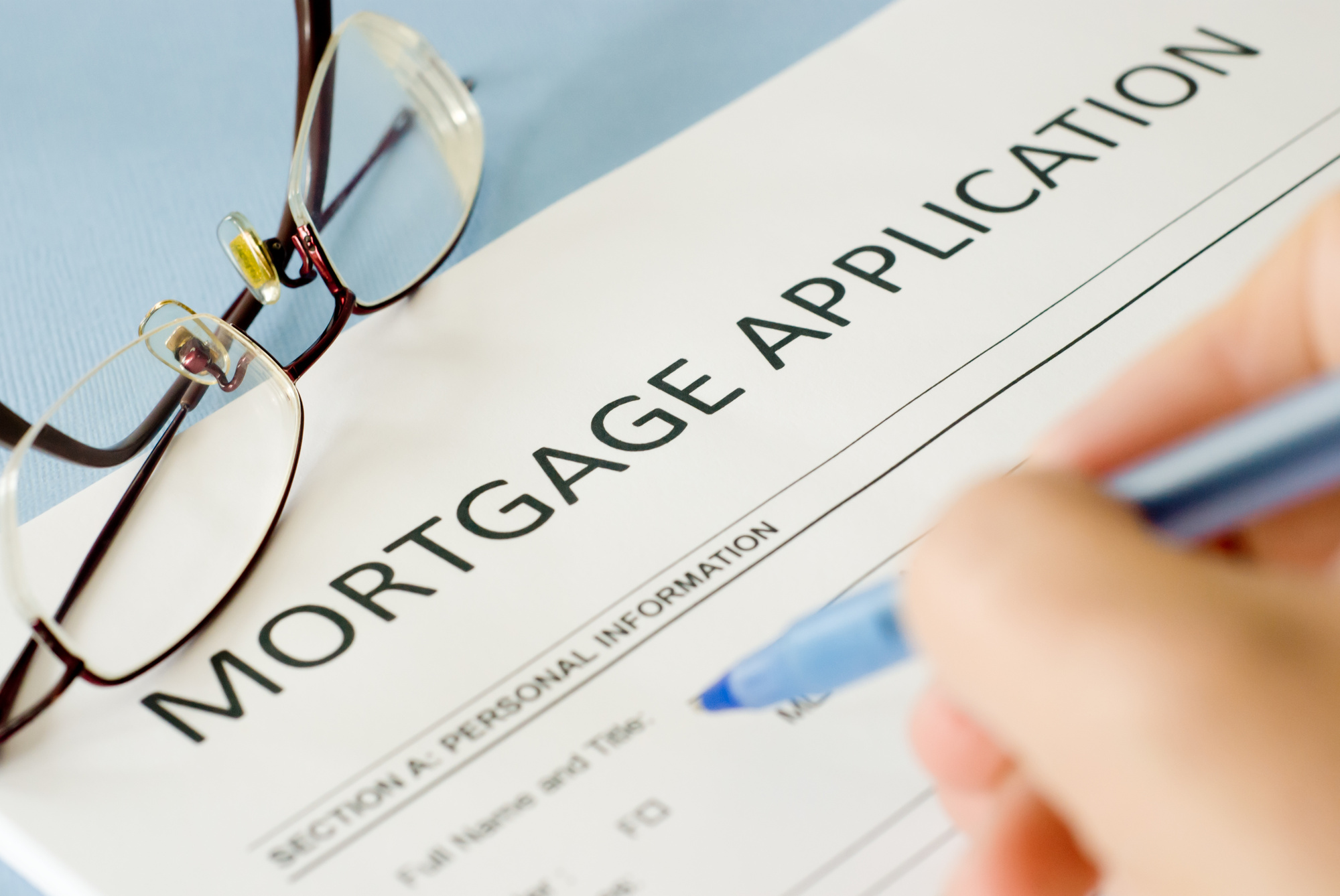 applying for a mortgage with bad credit