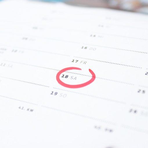 bi-weekly mortgage calendar